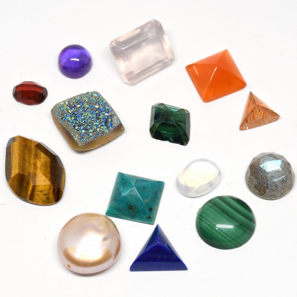 which gemstones are safe to use with liver of sulfur