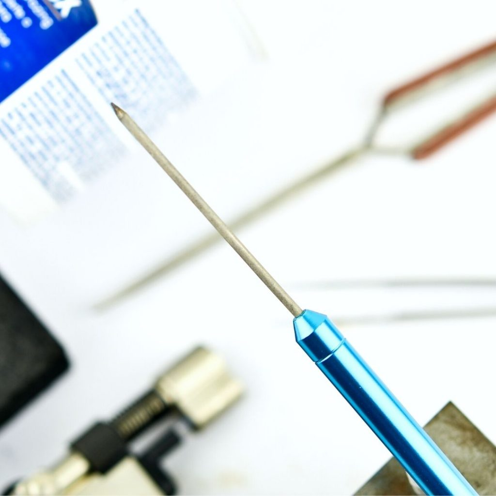 Soldering pick for jewellery making