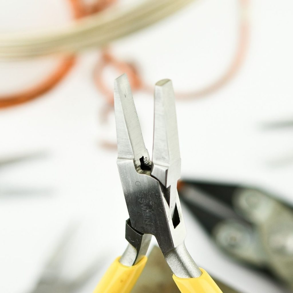 Half round and flat pliers - beginner jewellery making tools